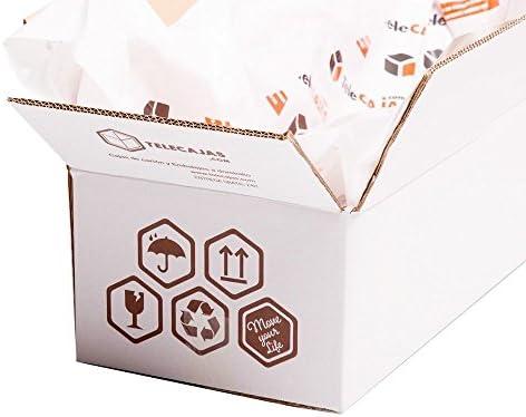 10x) Cajas Jamoneras de Cartón para Jamones y Paletillas: (85x25x16.3 cms). Lote de 10 Cajas. Cartón Reforzado Doble | TeleCajas.com: Amazon.es: Oficina y papelería