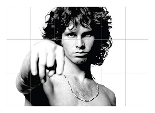 (JIM MORRISON THE DOORS GIANT POSTER PRINT HUGE SIZE XXXL NC5634)