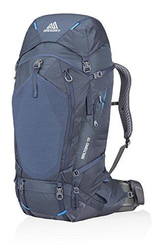 Gregory Mountain Products Men's Baltoro 75 Liter Backpack, Dusk Blue, Medium ()