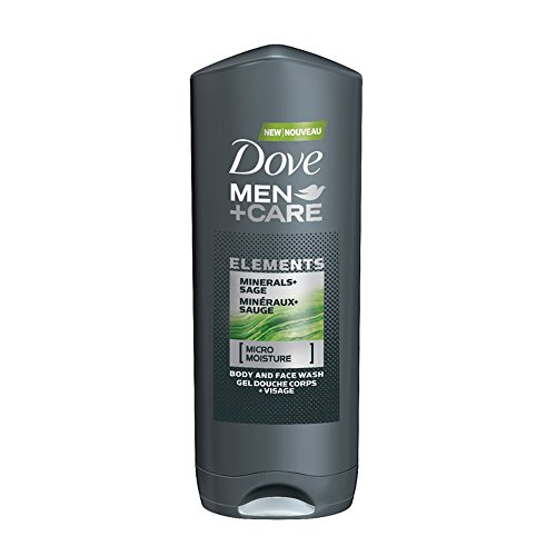 Dove Men's+Care Minerals and Sage Body Wash, 400ml
