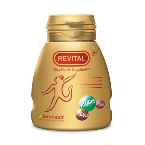 Revital by Ranbaxy (Ginseng Vitamins and Minerals) 30 (Ginseng 30 Caps)