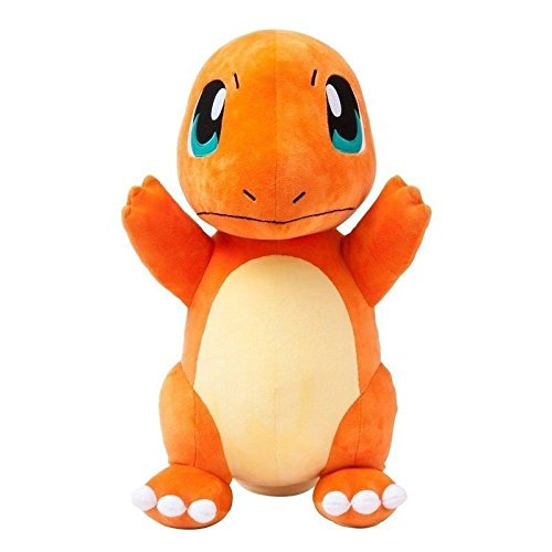 Pokemon Stuffed Charmander Figure Toy | Plush Animal Toys Gift Set for Babies and Newborns (Plush Evee Toys Pokemon)