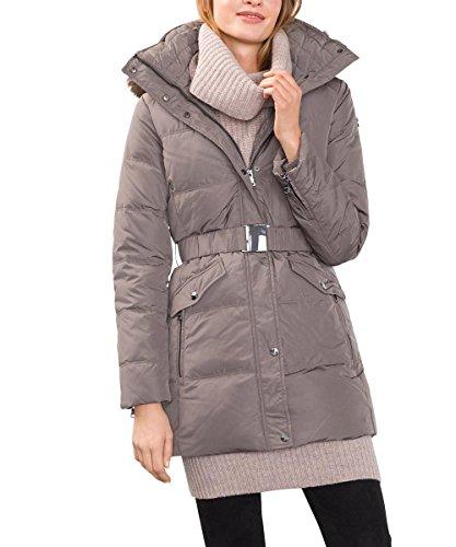 Esprit 096ee1g017, Manteau Femme Gris (Brown Grey 025)