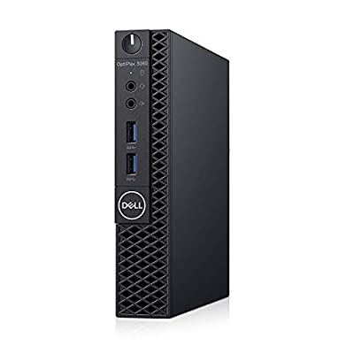 Dell OP3060MFFXKF5K OptiPlex 3060 XKF5K Micro PC with Intel Core i5-8500T 2.1 GHz Hexa-core, 8GB RAM, 256GB SSD, Windows 10 Pro 64-bit