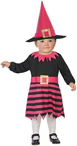 Atosa-38960 Atosa-38960-Disfraz Bruja-Bebé Niña, Color surtido, 6 ...