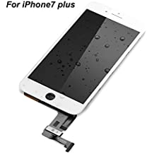 """Phone Partz Repair and Replacement LCD screen Display & Touch Screen Digitizer Assembly for iPhone 7 plus (5.5"""") White"""