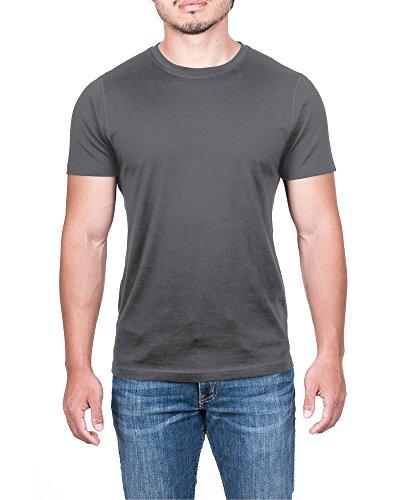 Apex Men s Merino Wool Lightweight Performance T-Shirt Grey  992281157