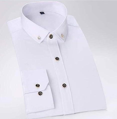 YAYLMKNA Camisa Novio Esmoquin Camisas Hombre Padrinos De Boda Hombres Camisas De Boda Ocasiones Formales Hombres Camisas, S: Amazon.es: Deportes y aire libre