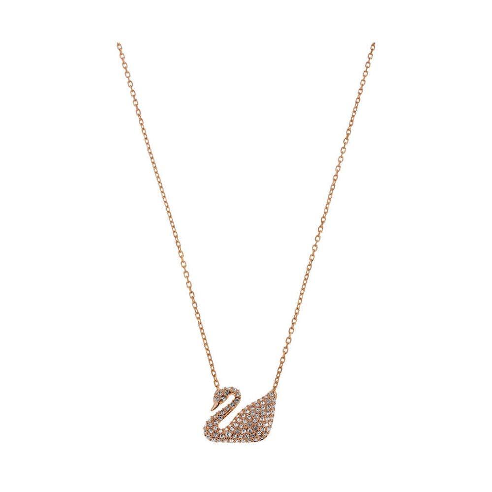 ad3f121c2c14 Amazon.com  Swarovski Crystal Pave Swan Necklace  Jewelry