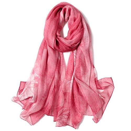 Sottile Donne Sciarpa Di Per colore Seta H Lungo Sciarpe Della Signore Scialle Sezione l Delle 8 Scialli 11 Gli Gelso 4qgaRY