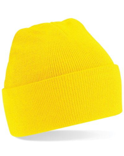 gorro gorro amarillo Beanie original original amarillo Beechfield original Beanie Beechfield Beechfield gorro zfwgq
