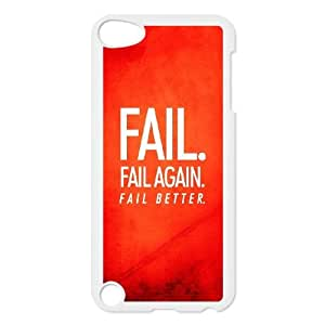 iPod Touch 5 Case White Fail Better FY1451897