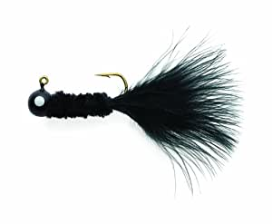 Eagle Claw Crappie Jig, 1/8-Ounce, Black