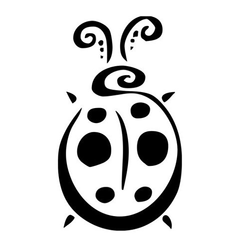 - Ladybug Vinyl Decal Window Sticker Graphic Auto Wall Car Laptop Cell Phone, Die Cut Vinyl Decal for Windows, Cars, Trucks, Tool Boxes, laptops, MacBook - virtually Any Hard, Smooth Surface