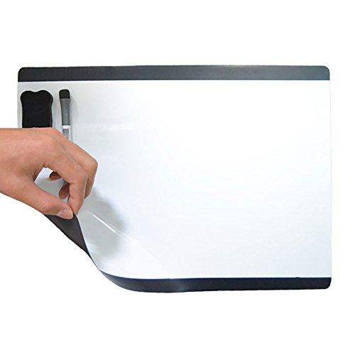 Villexun Pizarra blanca magnética A de borrado seco Imán para nevera Flexible