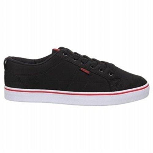Osiris Skateboard Schuhe 45 Black/Red/White