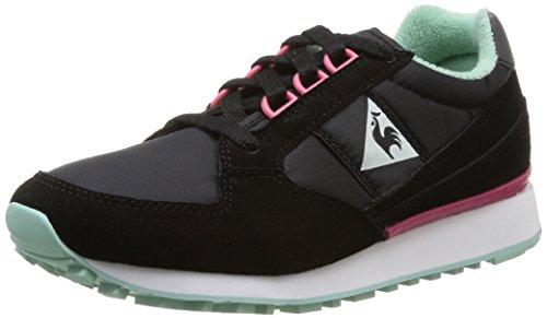 Le Coq Sportif Womens Black Eclat W Trainers-UK 5