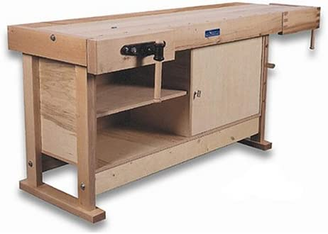 Waldmann 7423c 74 X 23 Bench Tail Vise And Full Cabinet