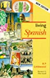 img - for Living Spanish book / textbook / text book