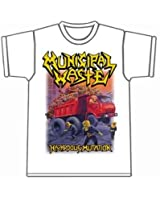 Municipal Waste - Hazardous Mutation White T-shirt