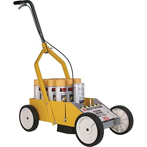 Rust-Oleum 2395000 High-Performance Striping Line Marking Machine, 9″ x 27.5″, Yellow
