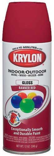 Colormaster Indoor/Outdoor Aerosol Paint 12oz-Gloss Banner R