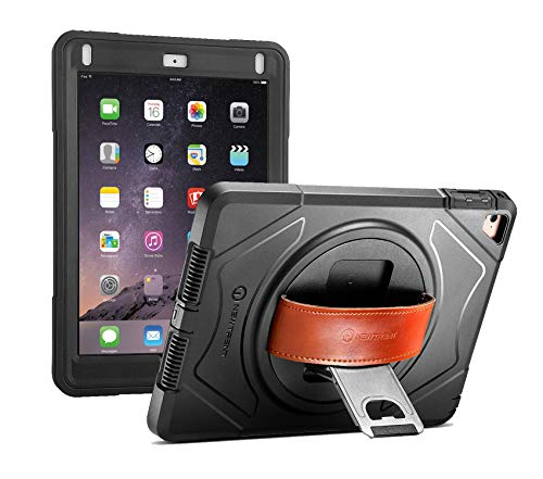 New Trent iPad Case 2018/2017, Heavy Duty Gladius Full-Body Rugged Protective Case with Built-in Screen Protector & Dual Layer Design for Apple iPad 9.7 inch 2017/2018 (Rugged Pro Version) (Operation Black Buck)