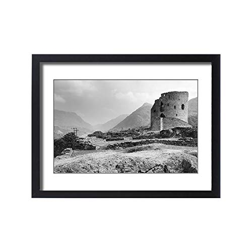 Dolbadarn Castle - Media Storehouse Framed 24x18 Print of Dolbadarn Castle (18175801)