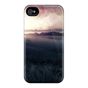 Lucklystar Perfect Tpu Case For Iphone 4/4s/ Anti-scratch Protector Case (beautiful Nature Fantasy)