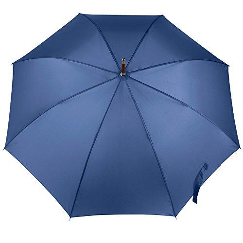 totes Auto Open Wooden Stick Umbrella