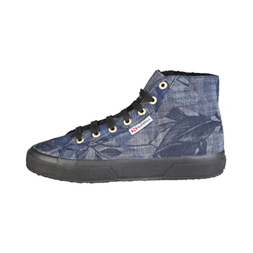 En Chaussures Bottines De Superga Femme Denim Forme 75Tw1qv