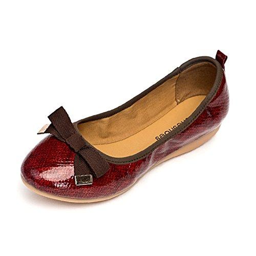 arco la Sra zapatos baja los de planos redondos C boca del zapatos xZaw8BrYqa