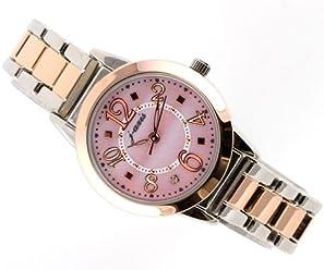 ea37aec8113d ViVi掲載モデル☆J-AXIS メタルウォッチ サンフレイム人気の可愛い腕時計 ツートン