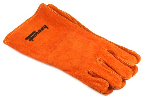 Forney 55206 Welding Glove, Large, Brown Leather (Gloves Welding Purpose)