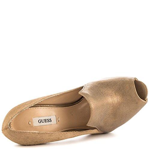 Beige para Guess de Zapatos vestir mujer FwqX04xg