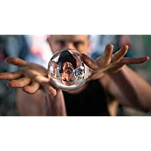 """Clear Acrylic Contact Juggling Ball - 2.75"""" - 70mm by Magic City"""