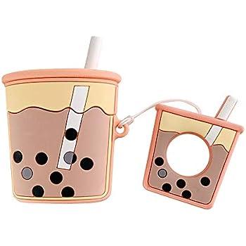 Amazon.com: UnnFiko Super Cute Bubble Tea Airpods Case, 3D