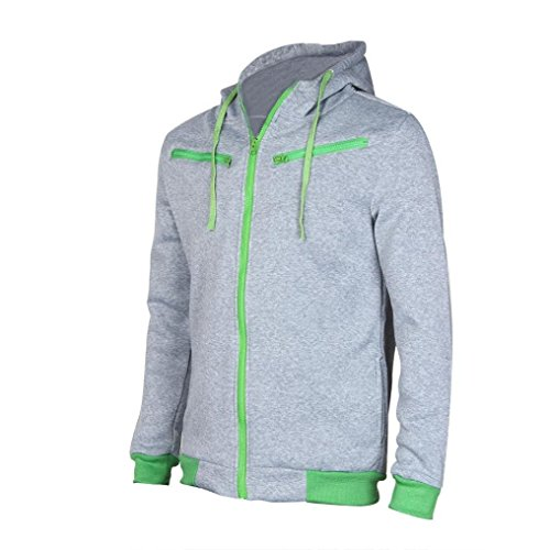 Spring Moon New Men Slim Warm Hoodie Hooded Sweatshirt for sale  Delivered anywhere in USA