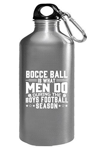 Bocce Ball What Men Do During The Boys Football Season - Wat