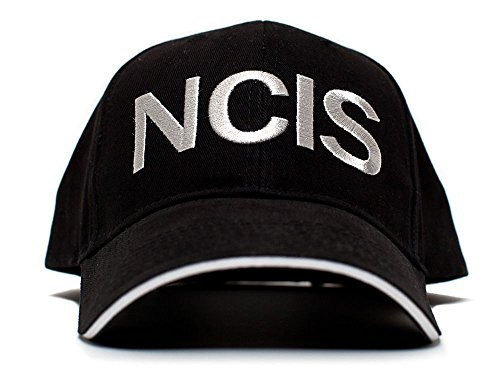 NCIS Hat Naval Criminal Investigative Service Movie Cap One Size Black (Ncis Best Gibbs Episodes)
