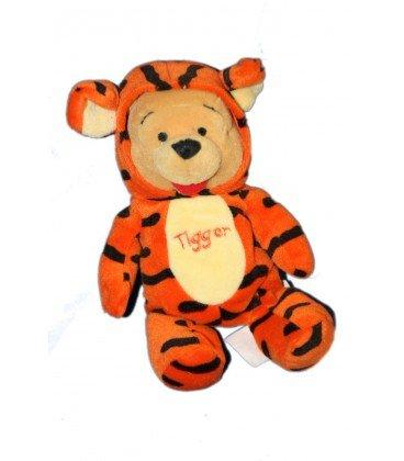 Pooh as Tigger Collector peluche Doudou Winnie the Pooh disfrazado de tigre Tigger 20 cm Disney Store: Amazon.es: Bebé