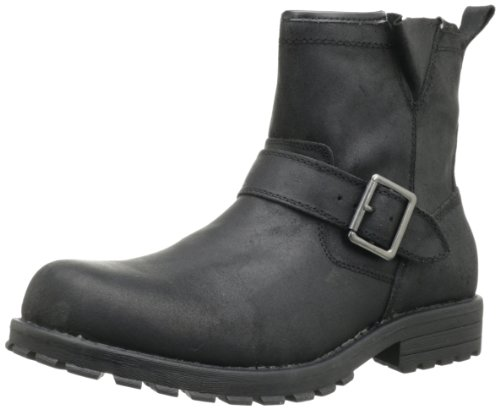 Skechers Men S Mid Top With Buckle Strap Pull On Boot