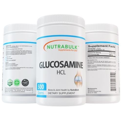 NutraBulk Glucosamine HCL Pure Powder - 500 gram ()