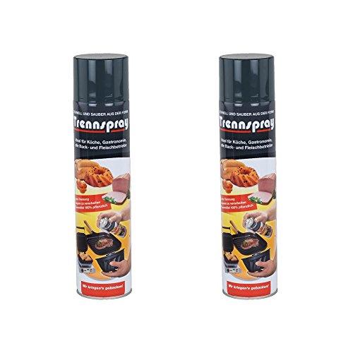 Boyens Trennspray 600ml Dose ( 2er Pack ) Trennfett Grillspray Backtrennmittel