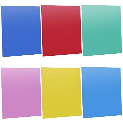 neewerr-7x8-18-x-20-cm-transparent-color-correction-lighting-gel-filter-set-pack-of-6-gel-sheet-for-