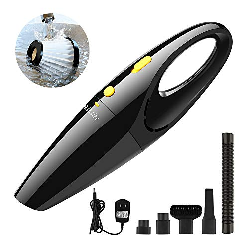 Aitsite Cordless Handheld Vacuum Cleaner 120W Powerful Portable Car Vacuum Cleaner Mini Hand Held Wet and Dry Vacuum with Rechargeable Battery