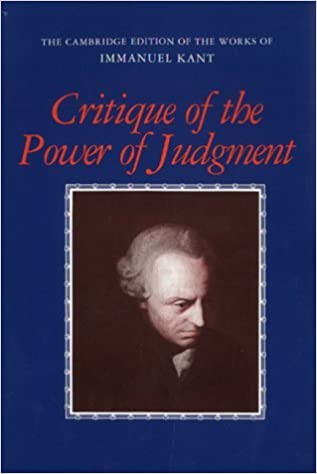 Critique of the Power of Judgment