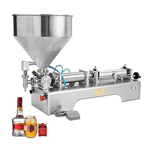 GOLDEN ELEPHANT Liquid Cream Filling Machine Pneumatic Semi-auto Pneumatic Liquid Cream Filler for Shampoo Cosmetic Honey Oil - Titrator Auto