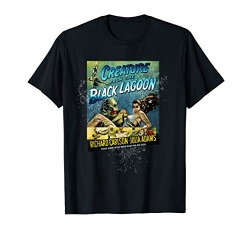 Vintage Creature From the Black Lagoon Halloween T-Shirt]()