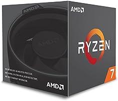 Processador, 3.2 GHz, 20MB, AM4, AMD, Ryzen 7 2700